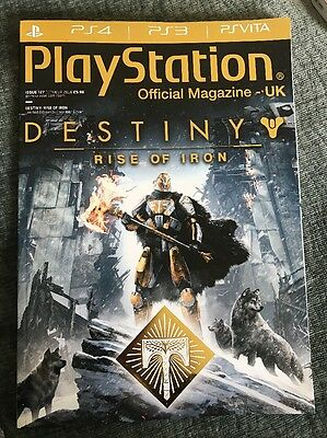 PlayStation Official Magazine #127 October 2016 Destiny Rise Of Iron PS4