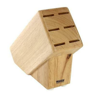 Thomas Rosenthal Wooden Steak Knife Block Holder Stand For 6 Knives