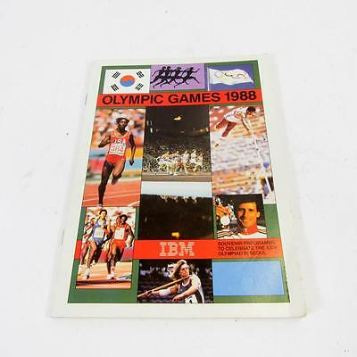 Olympic Games 1988 Souvenir Programme To Celebrate The XXIV Olympiad In Seoul