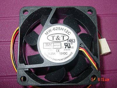 100 Brand New Fans 60Mmx60Mmx25Mm, Nm-625H12C,  Free Shipping Canada & Usml