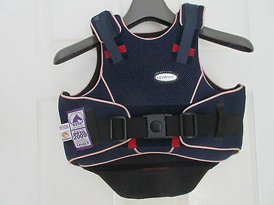"Champion Flex Air Blue Level 3 Body Protector Childs Small 25.5""-28"" 65-71Cm Vgc"
