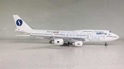 Boeing 747-300 Sabena OO-SGC a metal model in 1/200 scale from Inflight200