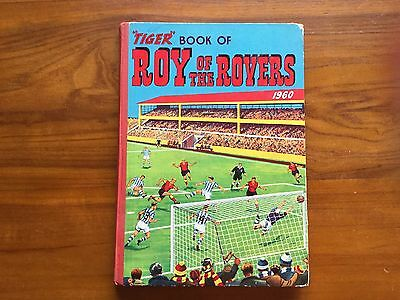 Tiger Book Roy Of The Rovers 1960