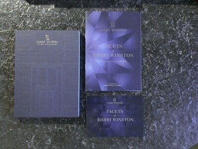 HARRY WINSTON Prospekt Material Timepieces + Flyer + Booklet Exhibition Geneva