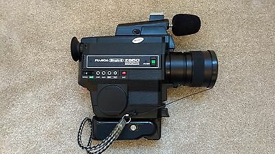 Fujica Z850 Single 8 Sound Cine Camera With Microphone