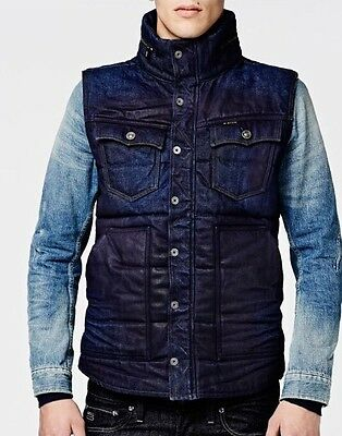G-star Gilet TAILOR PADDED S/LESS Taille:L Val:220€ G Star