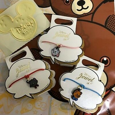 【Sold out in stores!!】 Disney Store Japan Aristocats Charm 3 set Jewel Marie