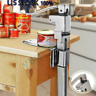 """13"""" Large Heavy-Duty Commercial Kitchen Restaurant Home Food Can Opener Table US"""