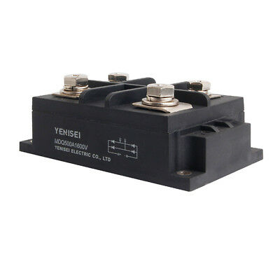 Bridge Rectifier MDQ-500A 500A 1600V Full Wave Diode Module One Phase