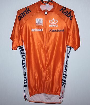 Netherlands Holland Olympic Team cycling shirt jersey Rabobank Size 2