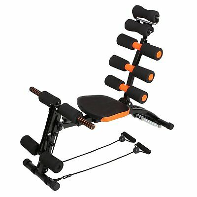 NEW! 8-in-1 Ab Trainer Core Workout Bench Body Workout Machine