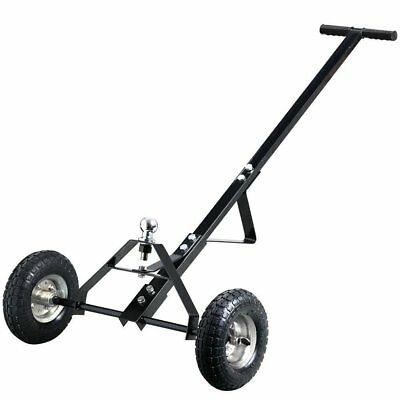 Metal Caravan Trailer Dolly Mover - H-Duty Black - For Boat - Jet Ski - Utility