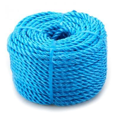 NEW 10mm x 30m Blue Heavy Duty Poly Rope Coils Polypropylene PP