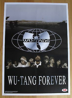 WU TANG CLAN vintage poster  forever
