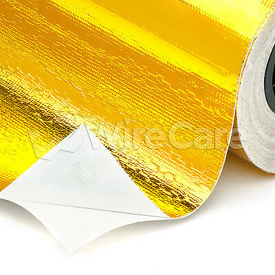 "GRF24.0GL - 24"" Gold Heat Reflective Film - 3 Ft Cuts"