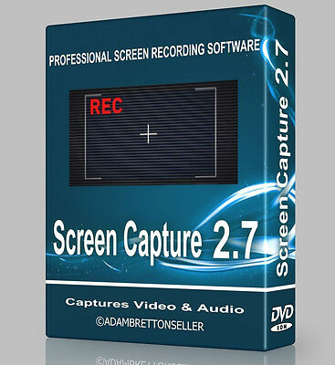Professional Screen Capture Recording Software - LIVE PC Screen Video Fraps DVD