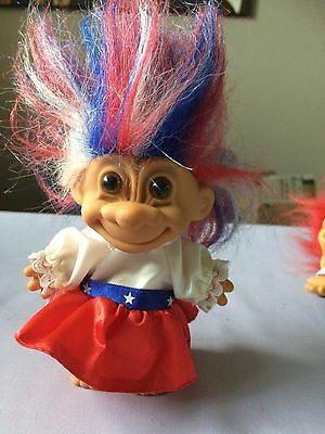 Vintage RUSS Troll American Outfit Independence Day Costume 4th July, RARE