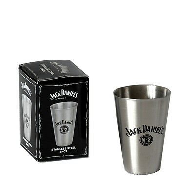 Jack Daniel's Tall Metal Shot Glass 8474Jd Officially Licensed Product