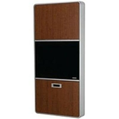 Rubbermaid Healthcare Computer Cabinet - Up to 24 Screen Support - 46 Height x 2