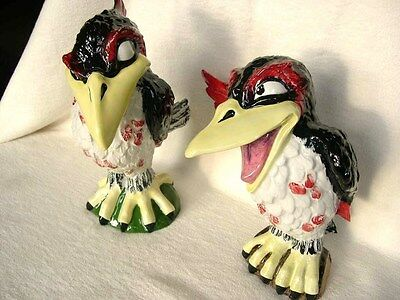 Lorna Bailey Birds Jim The Jackdaw And Ray Rook 1/1 Colourway 1 Of 1 In Red