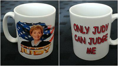 New Judge Judy Inspired Ceramic Mug Funny Unofficial Boxed Ideal Gift Present
