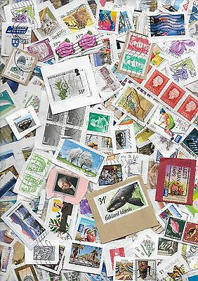 100g WORLD STAMP MIXTURE/KILOWARE ON PAPER. GREAT LOT FOR SORTING # 5