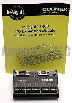 Cognex In-Sight CIO-1400 I/O Input Output Expansion Module 800-9012-2R 3400 5000