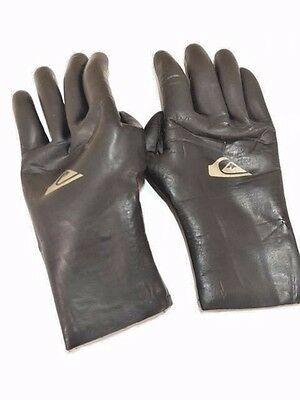 Quiksilver Neoprene Gloves Men's Size Large Surfing River Dive Cold Water 2mm