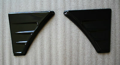 FORD FOCUS MK 2 RS Style WING VENTS ABS - PLASTIC NEW! Tuning to FORD