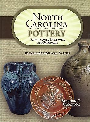 Antique North Carolina Pottery Earthenware Stoneware ID + Values / Scarce Book
