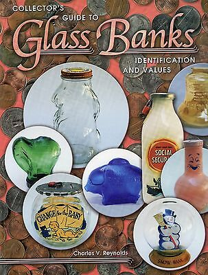 Antique Vintage Glass Piggy Banks - Identification and Values / Scarce Book