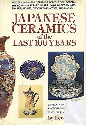 Antique Japanese Pottery Porcelain - Periods Makers Dates Marks / Scarce Book