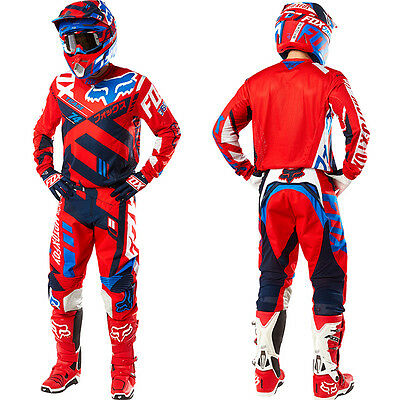 Motocross Cross Enduro Jersey & Pantalones Kit Fox 360 Divizion + REGALOS