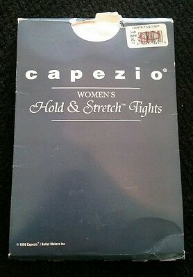 Capezio Womens Hold and Stretch Dance Tights 14 Color BPK Size XL