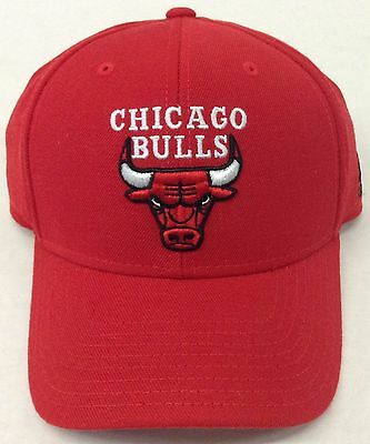 815b8ede1c9 NBA Chicago Bulls Adidas Adjustable Back Cap Hat Beanie Style  N617Z NEW!