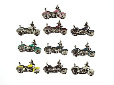 American Motorcycle Pins   Lot of 10  (Wholesale Price)