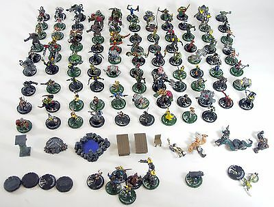 Mage Knight Minis Miniature Figure Lot Wizkids 2002  ~ Over 115 RPG Game Pieces
