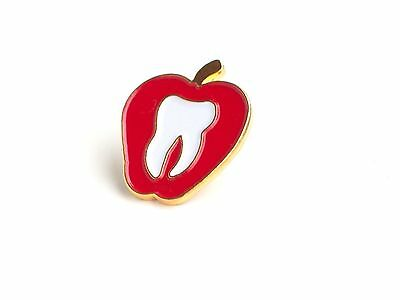Dentist- Apple Lapel Pin (D010)