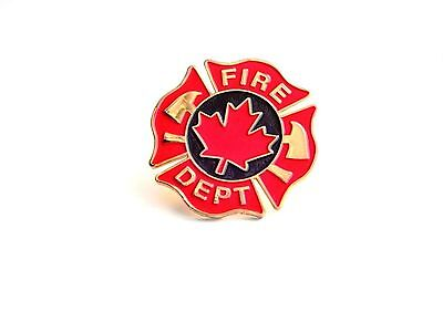 Canadian Fire Department Pin (X338G)
