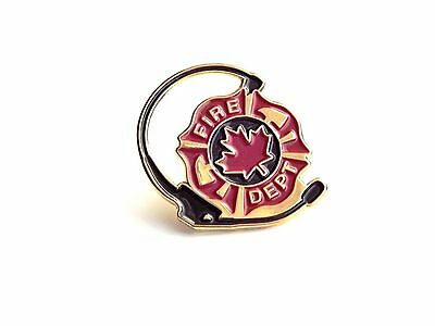Canadian Fire Department Operator Pin (X414G)