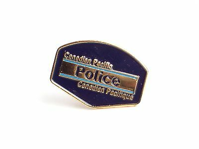 Canadian Pacific Police Sign Train Pin (R051)