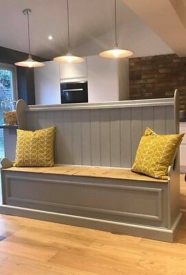NEW Pine Bench / Settle / Church Pew  Window Seats Chairs
