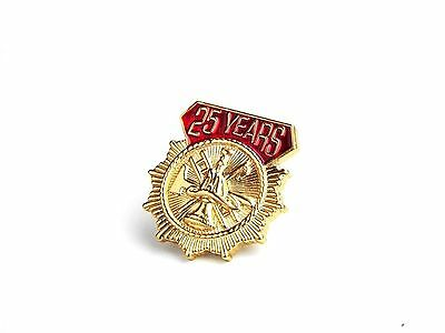 Firefighter - 25 Years of Service Tie Tack (X406TTACKG)