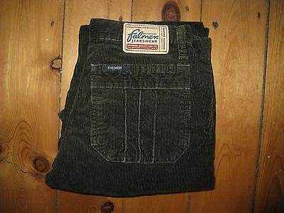 """Vintage Falmer green corduroy jeans age 13, or XS 26"""" waist (brand new)"""