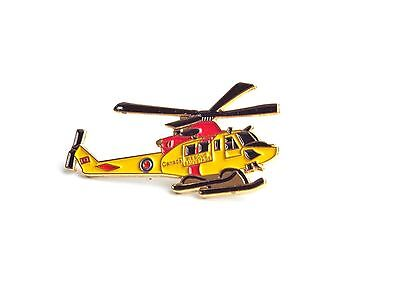 Aviation Lapel Pin - Search & Rescue Griffon Helicopter (P023)