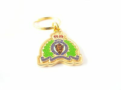 Keychain - RCMP Colored Crest (121RKG)