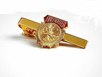 Firefighter Tie Clip (X373TBARG)