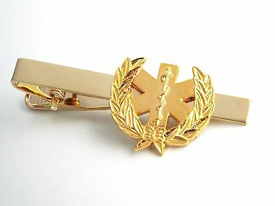 Star of Life Medical Tie Clip (X304G)