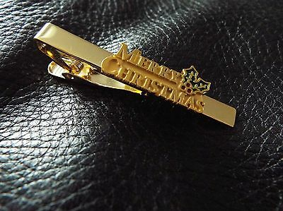 Merry Christmas Tie Clip