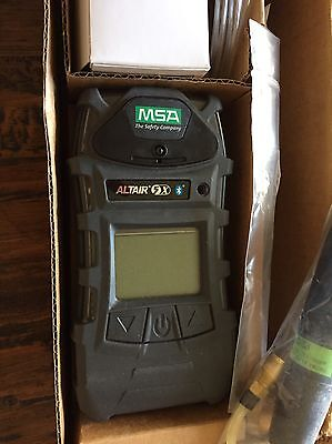 NEW MSA Altair 5X Bluetooth, Warranty, Calibrated, Multigas Gas Monitor Detector